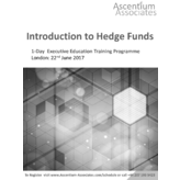 Introduction to Hedge Funds - London - June 2017
