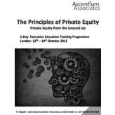 Principles of Private Equity - London - October 2015